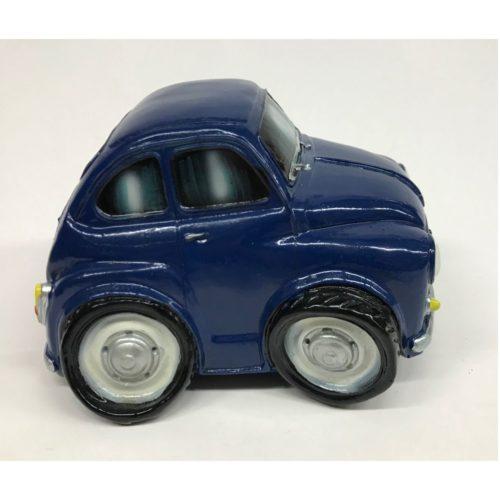 Spaarpot Fiat 600 gepimpt in blauw