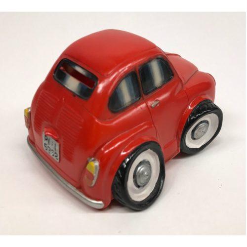 Spaarpot Fiat 600 gepimpt in rood