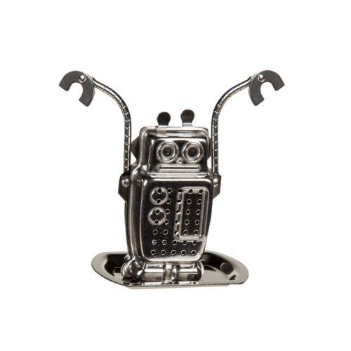 thee-ei metaal rvs robot