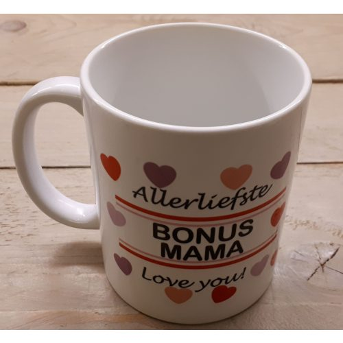 Mok Allerliefste bonus mama love you