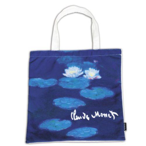 Draagtas Kunstenaars Claude Monet Waterlelies