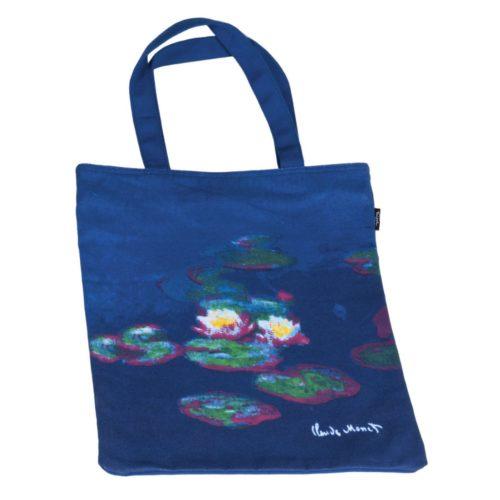 Draagtas katoen Kunstenaars Claude Monet Waterlelies
