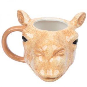 Mok kop kameel van keramiek 3D