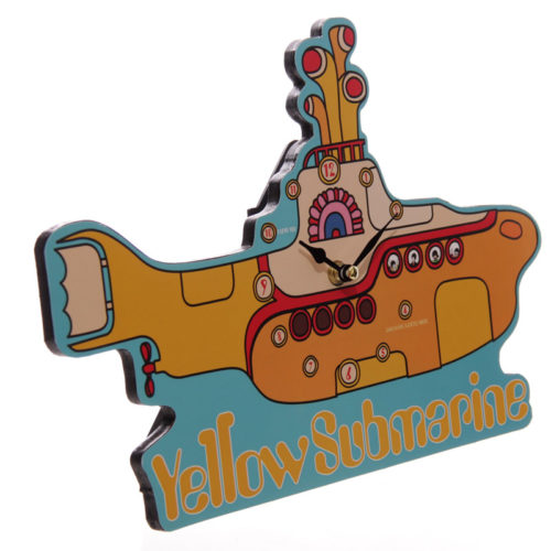 Beatles klok Yellow submarine