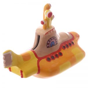 Beatles spaarpot Yellow submarine