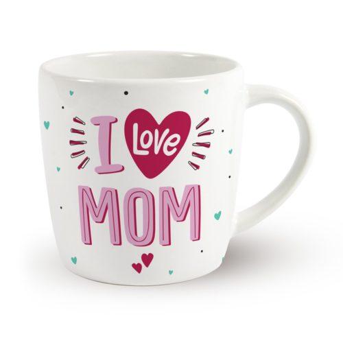 Mok I love mom - Leuk voor o.a. moeder dag