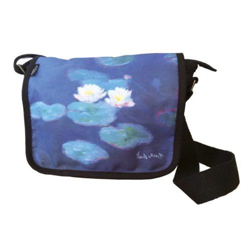 Schoudertas kunstenaars Claude Monet Waterlelies-