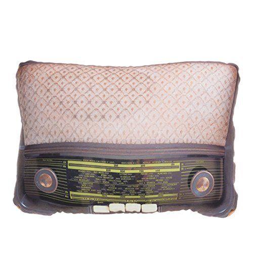 Sierkussen Retro Radio