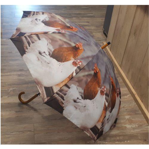 Paraplu boerderij dieren kippen van Esschert design