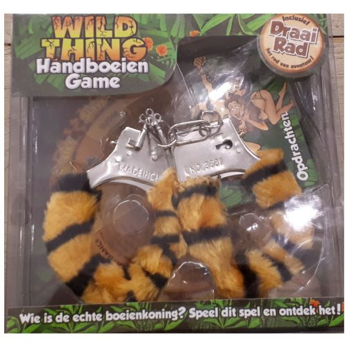 Wild thing sexy handboeien game 18+