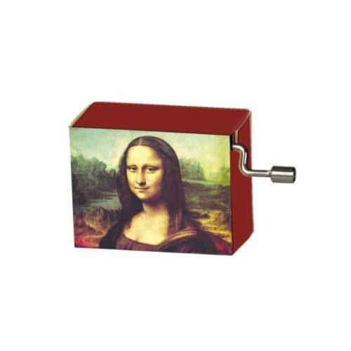 Muziekdoosje kunstenaars Leonardo da Vinci Mona Lisa