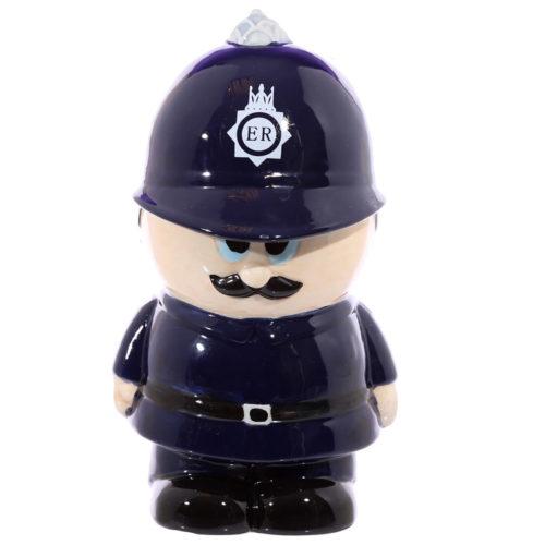 Spaarpot Engelse politieman of Bobby van keramiek