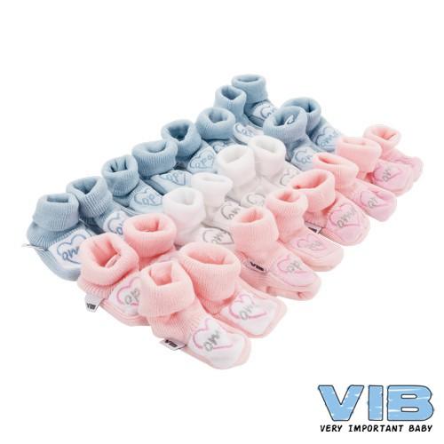 VIB babyslofjes I love oma roze