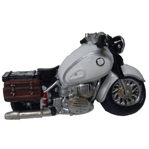Spaarpot tour motor wit met tassen
