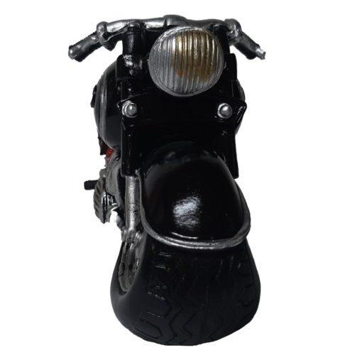 Spaarpot tour motor zwartmet tassen