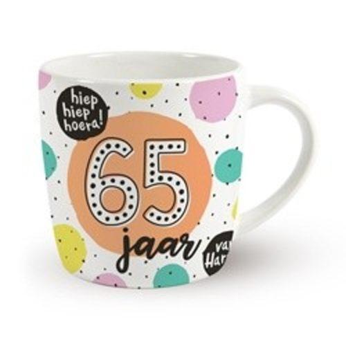 Mok verjaardag 65 jaar hoera