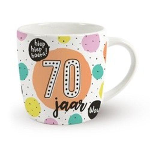 Mok verjaardag 70 jaar hoera