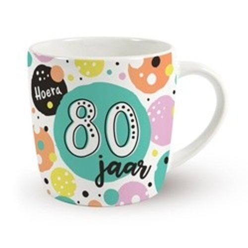 Mok verjaardag 80 jaar hoera