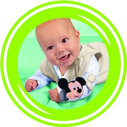 Arm rammelaar Disney baby Mickey Mouse blauw