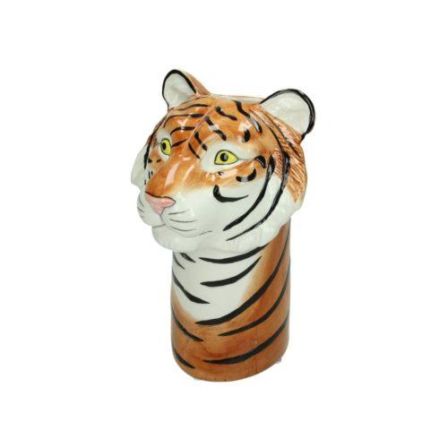 Bloemen vaas in tijger vorm 3D