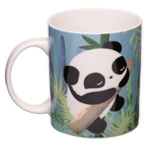 Mok panda van porselein in geschenk verpakking