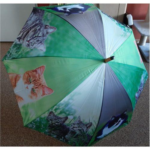 Paraplu met poezen en katten van esschert design