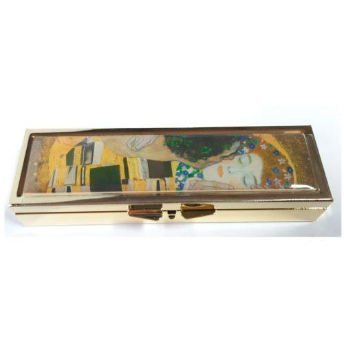 Pillendoosje 7 dagen Gustav Klimt De Kus