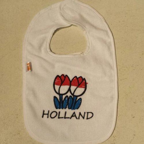 VIB Slab wit Holland tulpen