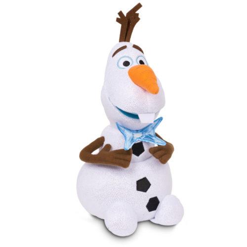 Frozen Olaf knuffel pluche 30 cm geeft licht en geluid