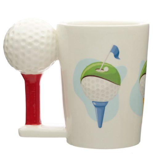 3D mok sport golf met golfbal
