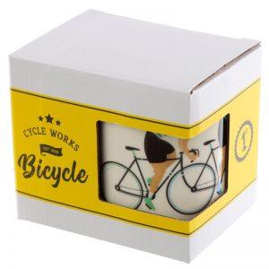 Mok race fiets tour de France van porselein