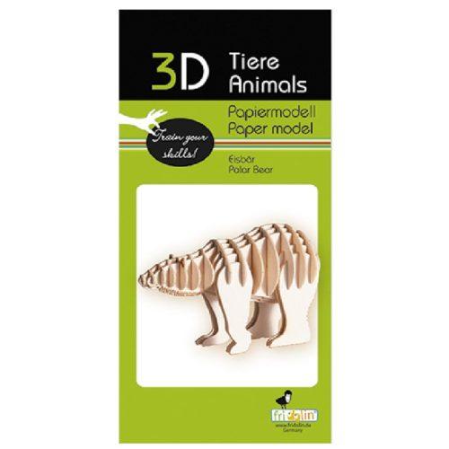 3D puzzel en bouwpakket hond ijsbeer