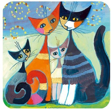 Memo spel 36 kaarten Rosina Wachtmeiser katten