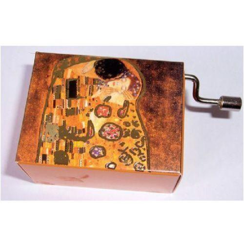 Muziekdoosje kunstenaars Gustav Klimt De kus, melodie Arabesque