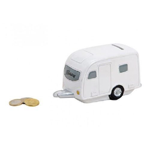 Spaarpot caravan sparen voor vakantie en camping