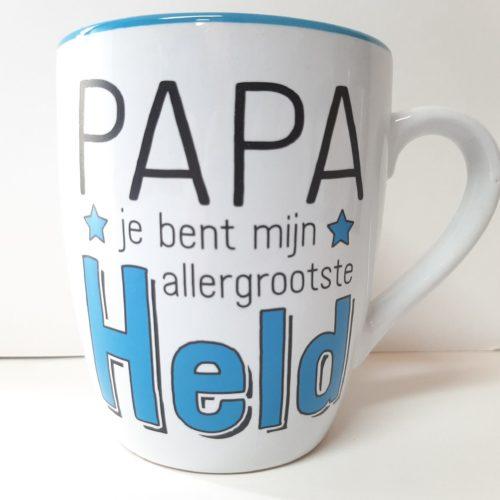 Mok PAPA jij bent mijn allergrootste held