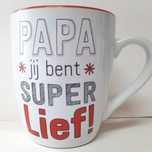 Mok PAPA jij bent super lief