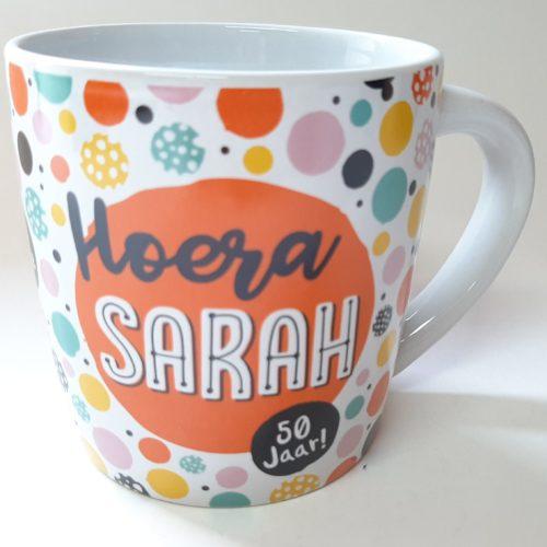 Mok Hoera Sarah 50 jaar