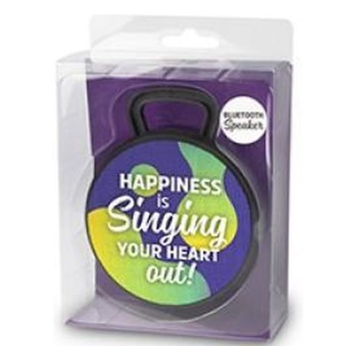 Bluetooth speaker HAPINESS is SINGING your heart out
