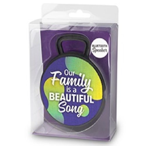 Bluetooth speaker Our FAMILY is a beautiful SONG