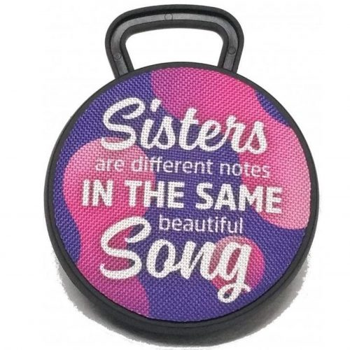 Bluetooth speaker SISTERS are different notes in the same beautiful song