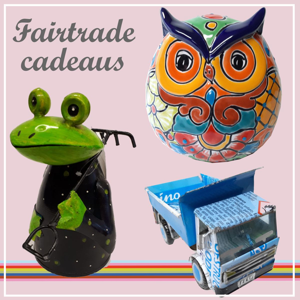 Fairtrade cadeaus bij FAME musthaves