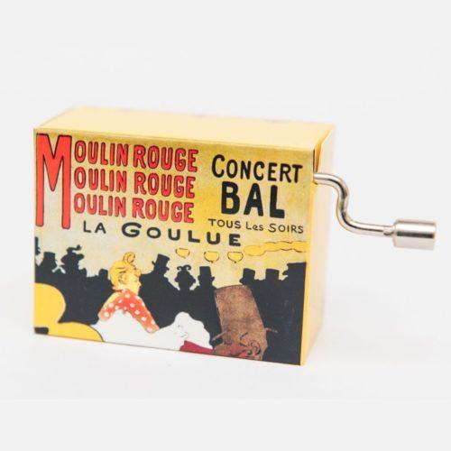 Muziekdoosje Moulin Rouge French Cancan