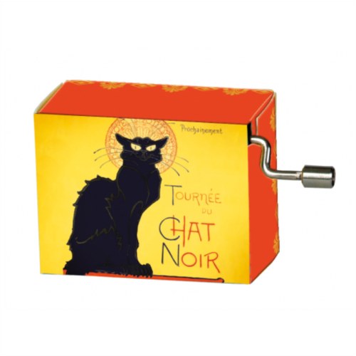 Muziekdoosje Tournée Chat Noir melodie French Cancan