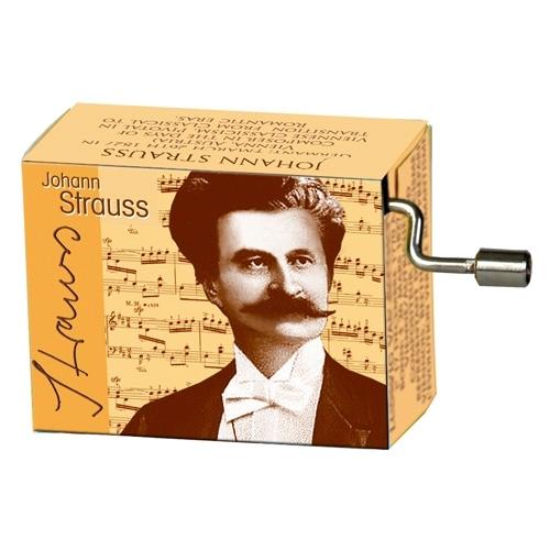 Muziekdoosje klassieke muziek Johann Baptist Strauss (junior) melodie Donauwalzer