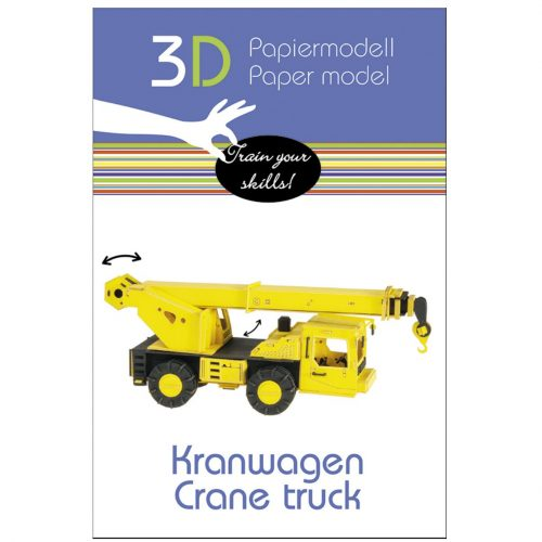3D puzzel en bouwpakket hijskraan-kraanwagen