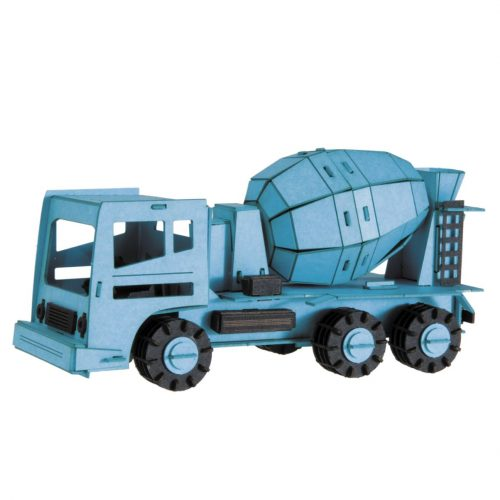 3D puzzel en bouwpakket vrachtauto betonmixer