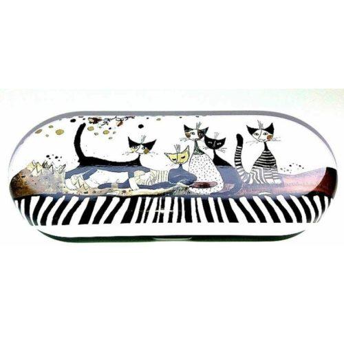 Brillenkoker kunstenaars Rosina Wachtmeister Cats Sepia
