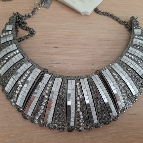 Ketting Claire & Eef 3 delig grote shiny hanger