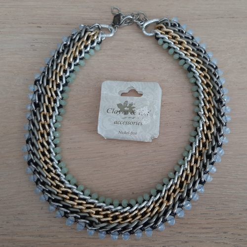 Ketting Claire & Eef Classic o.a. met groen